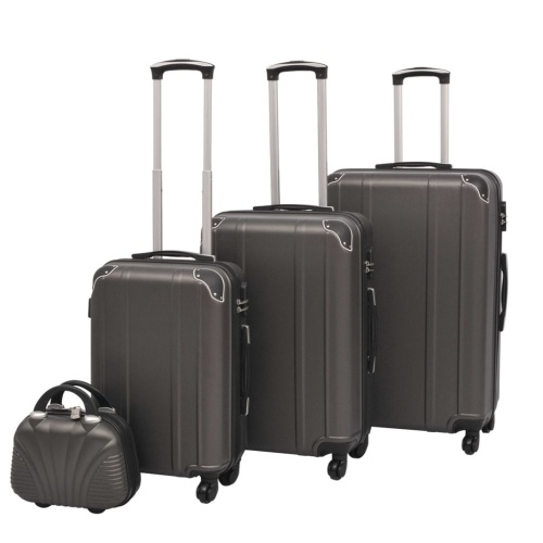 Luxury 4PCS Spinner Luggage Set Hard Shell Carry-on Suitcase