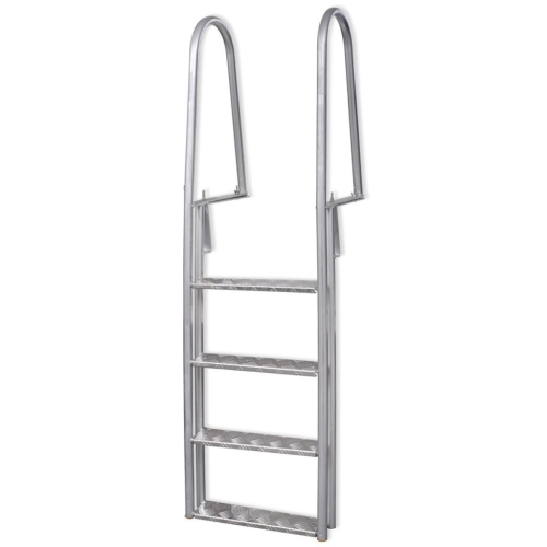 4-Step Dock / Pool Ladder in alluminio 170 cm