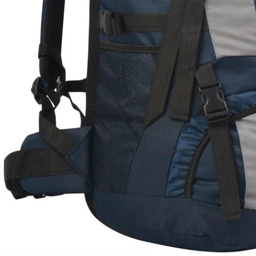 Походный рюкзак с дождевой крышкой XXL 75 L Синий синий