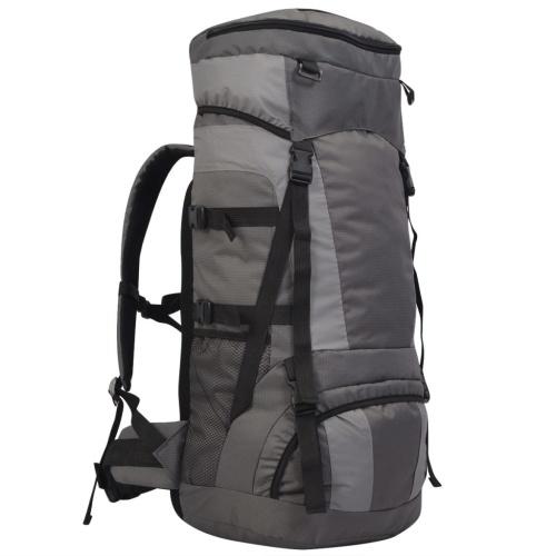 Походный рюкзак с дождевой крышкой XXL 75 L антрацит