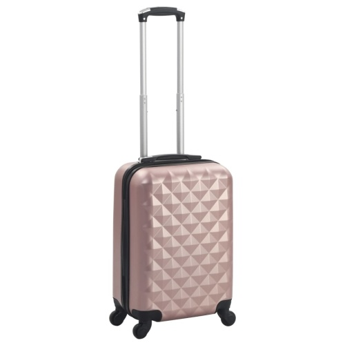 Travel Hard Shell Trolley Rose Gold ABS Luggage