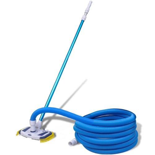 Vacío herramienta de limpieza de la piscina con telescópica Polo y Manguera