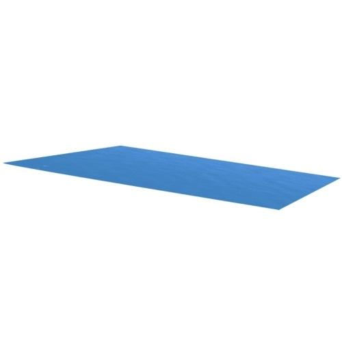 Couverture rectangulaire pour piscine en PE 260 x 160 cm