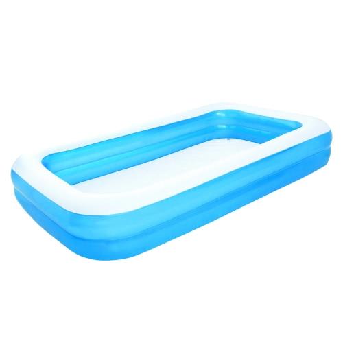 Bestway Inflatable Pool Blue/White 305 x 183 x 46 cm 54150