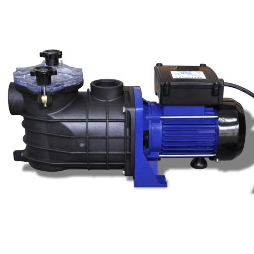 Pompe électrique filtration piscine 500 W bleu
