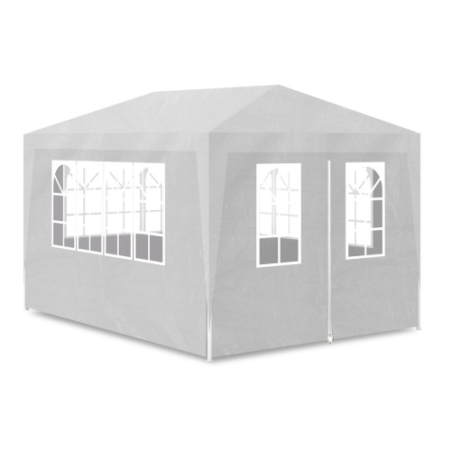 party tent 10' x 13' with 4 walls white
