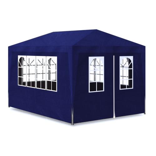10 'x 13' tenda blu del partito con 4 Walls