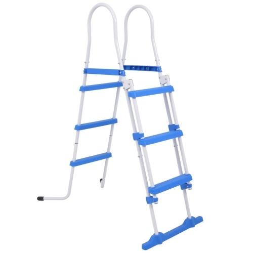 ?Safety ladder of raised pool 3 steps 107 cm