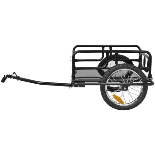 bicycle cargo trailer black 50 kg