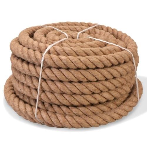 Rope 100% jute 20 mm 50 m
