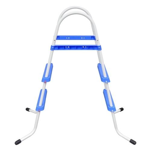 Scaletta per la piscina con gradini antiscivolo 86,5 cm