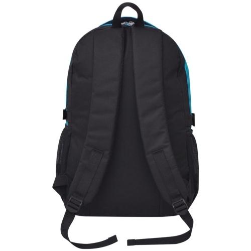 40 L Черный и синий школьный рюкзак