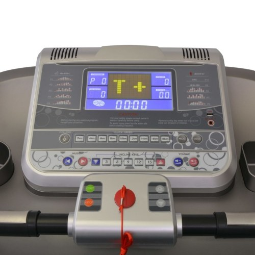 electric treadmill 161x60cm with lcd display 1-22 km / h 5 hp