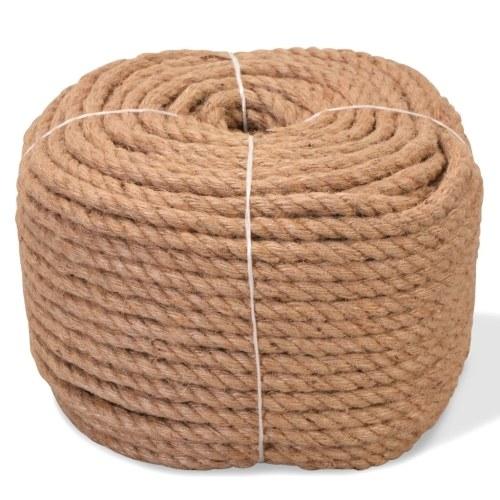 Jute rope 100% 6 mm 500 m