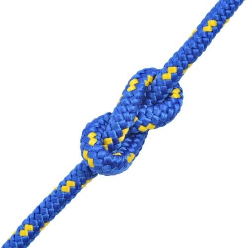 Polypropylene Nautical rope 6 mm 100 m Blue