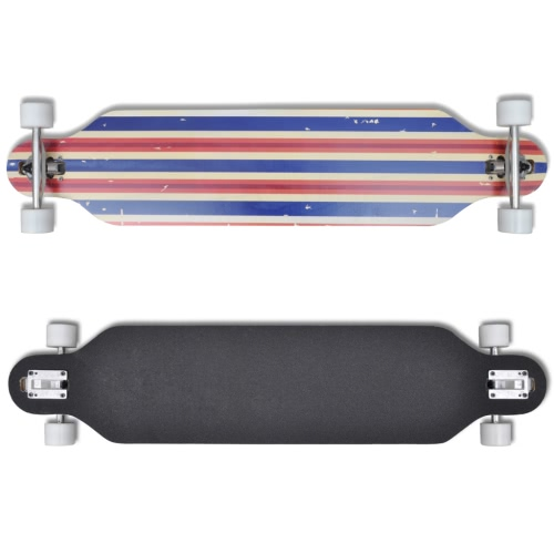 Longboard 107 cm 9 Ply Maple Skateboard 9