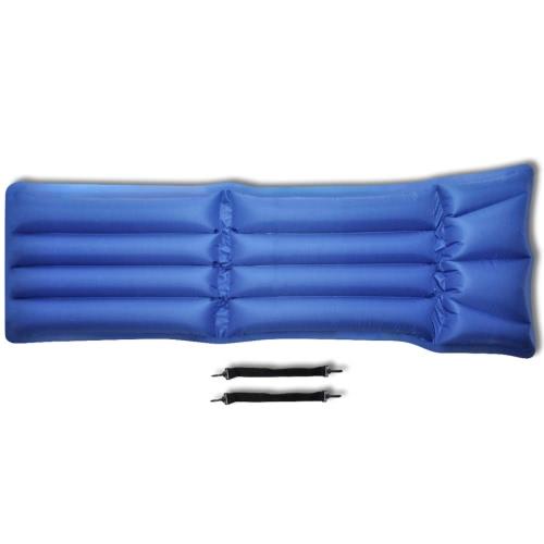 Colchón de aire inflable para acampar plegable de 178 x 69 cm