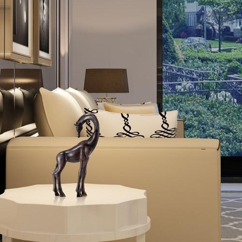 Купить Giraffe Bronze Skulptur Naturgetreue Aussehen Dekorationen Tier Skulptur Giraffe