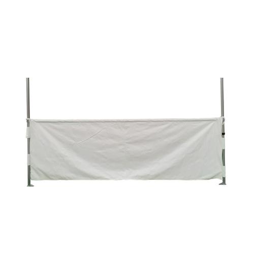 Demi rideaux 3m pour barnum pliant connexion 50mm