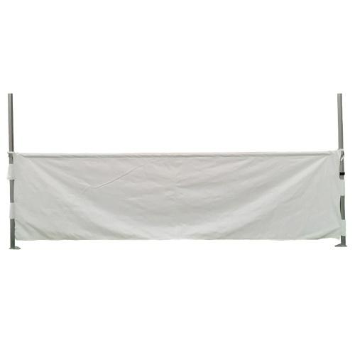 Demi rideaux 4.5m pour tente pliante connexion hexa. 50mm - Gamme ALU 50