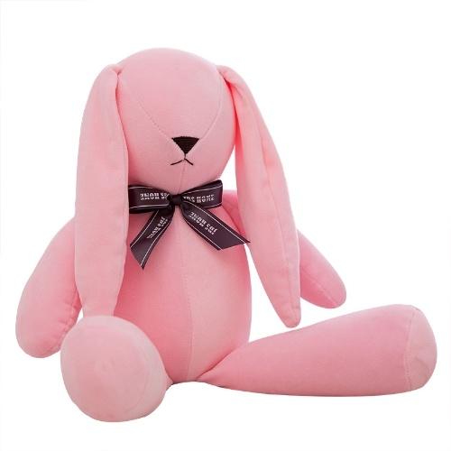 Criativo novo brinquedo de pelúcia acompanhado de boneca de coelho