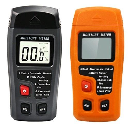 Holzfeuchte-Tester Feuchtigkeitsmesser Holzboden Karton Feuchtigkeitsmesser Feuchtigkeitsmesser Feuchtigkeitsmesser Schwarz Feuchtigkeitsmesser mit Batterie