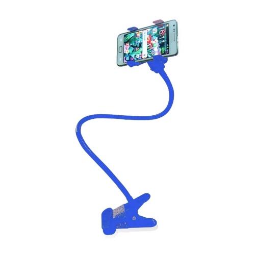 Портативный держатель для мобильного телефона Клип-держатель для смартфона Металлический кронштейн Поворот на 360 ° Дизайн