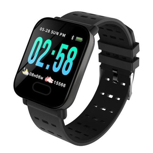 Bracelet intelligent écran couleur A6