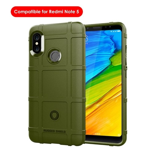 Telefon Fall TPU Anti-Fall-Telefon Schutz-Shell Weiche einfache leichte Handy-Schutzhülle Rückseite Kompatibel für Redmi Note5