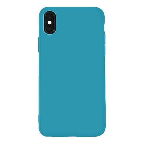 Индивидуальный мобильный телефон оболочки простой просо серии красочные мобильный телефон оболочки новый маленький свежий мобильный телефон задняя крышка защитная крышка синий фото