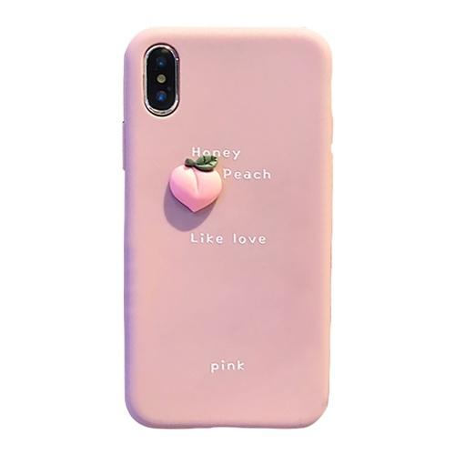Phonecase 3D Orange Avocado Peach Designs Mattierte weiche TPU-Abdeckung Telefonhüllen Stoßfeste, schlanke, flexible, rutschfeste Handy-Abdeckung für das iPhone