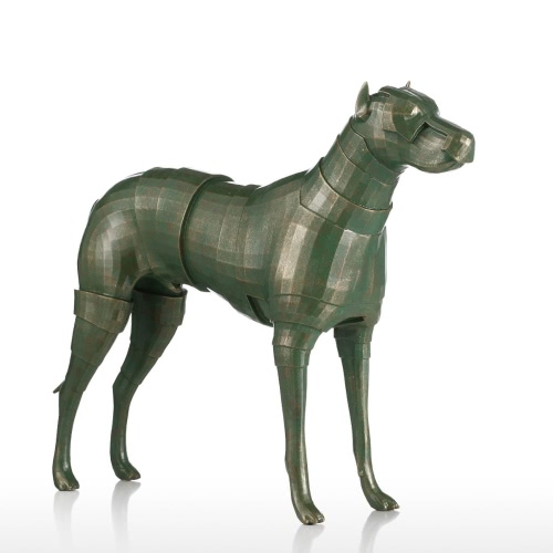 Tomfeel Armor Dog Resin Escultura Decoración para el Hogar Original Design Dog