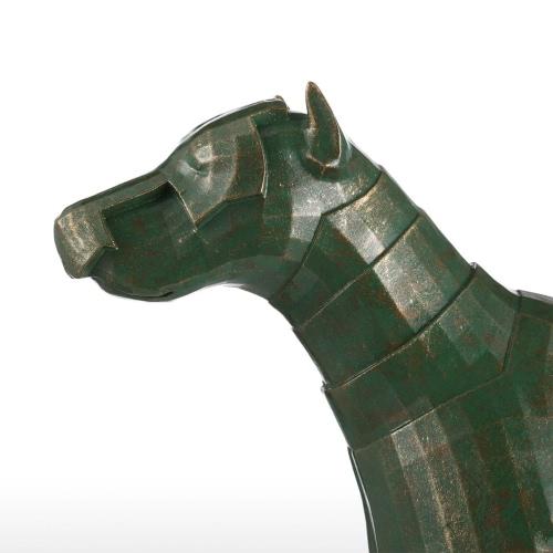 Armor Dog Tomfeel Fiberglass Sculpture Home Decoration Original Design Dog