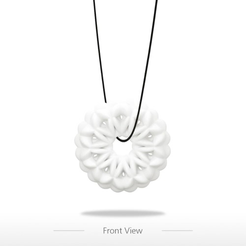 Snowflake Pendant Tomfeel 3D Printed Jewelry Original Design Unique Model