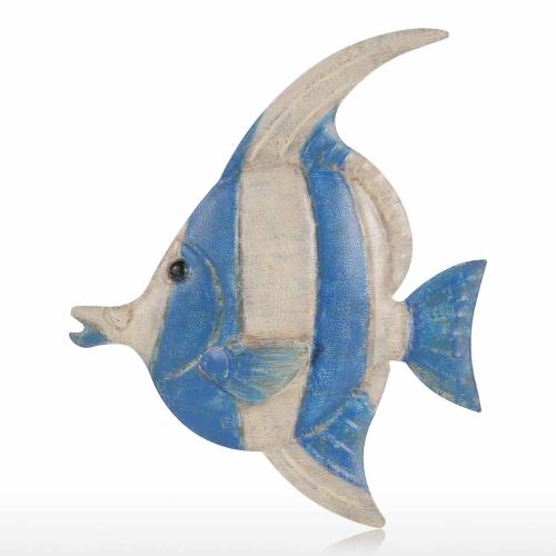 Pescado pared colgando 1 hierro decoración de la pared creativo ornamento artesanal de pared de fijación de pared colgando de la vida marina