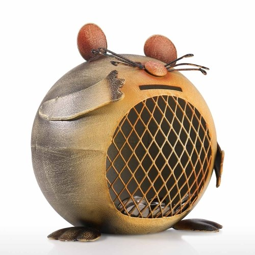 Mouse-shaped Coin Bank Cute Animal Coin Bank Creative Animal Piggy Bank Decorative Ornament
