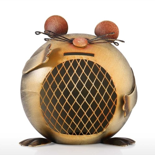 Mouse-shaped Coin Bank Cute Animal Coin Bank Creative Animal Piggy Bank Decorative Ornament