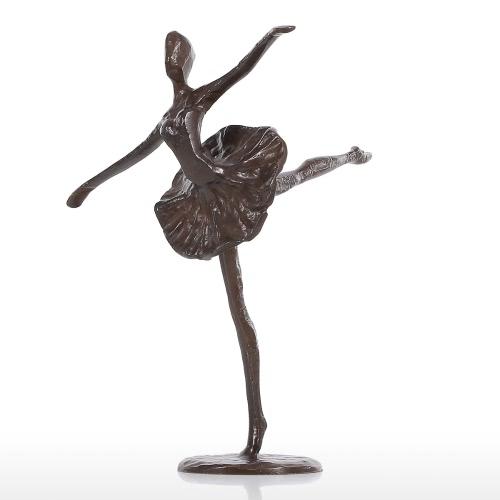 Escultura de bronce de ballet Escultura de metal Escultura de decoración moderna
