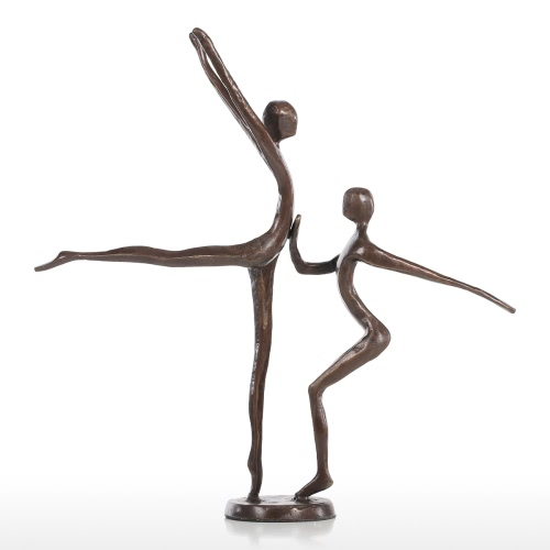 Double dance 1 Modern Dance Bronze Sculpture Métal Sculpture Home Decor Art Gift