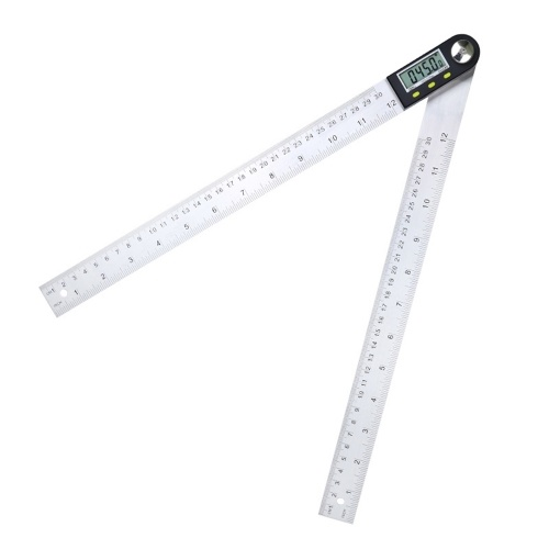 Digital display angle IP54 stainless steel protractor woodworking angle protractor multifunction 360 degrees Angle ruler 200mm