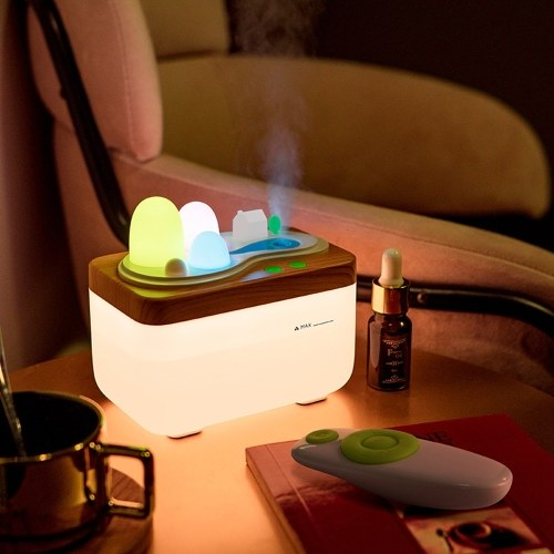 420ML Ultrasonic Air Humidifier USB Aroma Essential Oil Diffuser