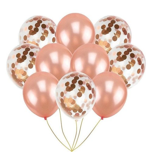 10pcs Sequin Balloon set