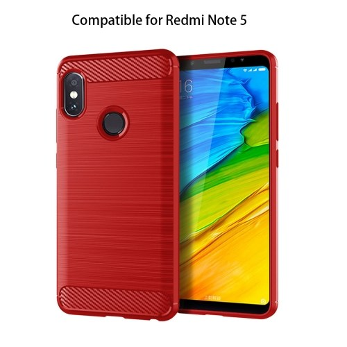Telefon Fall TPU Anti-Fall-Telefon Schutz-Shell Einfache leichte Handy-Schutzfolie Rückseite Kompatibel für Redmi Note5