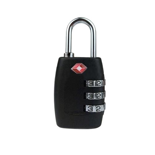 Resettable 3 Digit Combination Password Customs Lock TSA Locks For Travel Luggage Suitcase Keyed Password Code Padlock Customs Padlocks