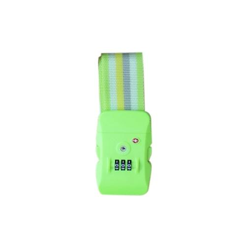 Дорожный багажный ремень / чемодан Упаковочный регулируемый ремень / 3-значный пароль TSA Замок Пряжка / багажные ремни
