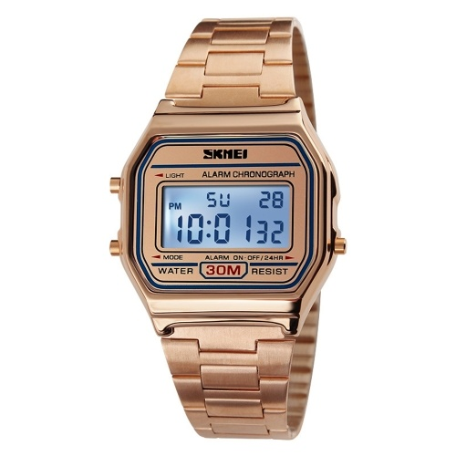 SKMEI Time beauty men's retro business watch