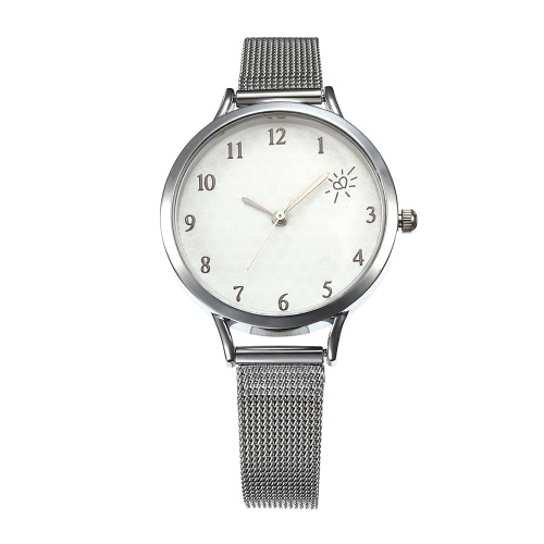 Women Simple Mesh Band Watch