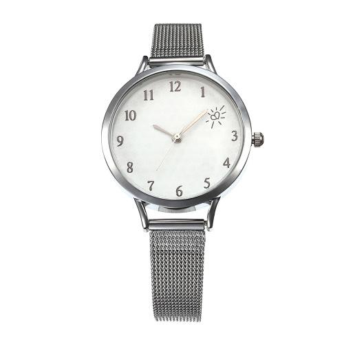 Reloj de malla simple para mujer