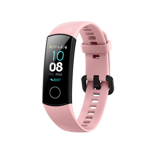 Applicable Huawei glory bracelet 4 standard version NFC version 50 meters waterproof sports heart rate sleep monitoring international version Coral