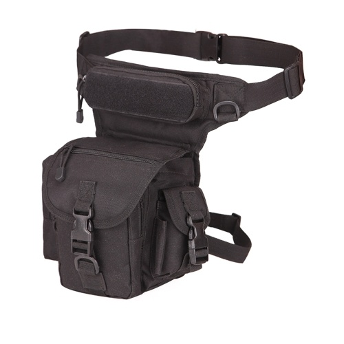 Bolsa de cintura com bolsos múltiplos Bolsa de perna com bolsos impermeáveis